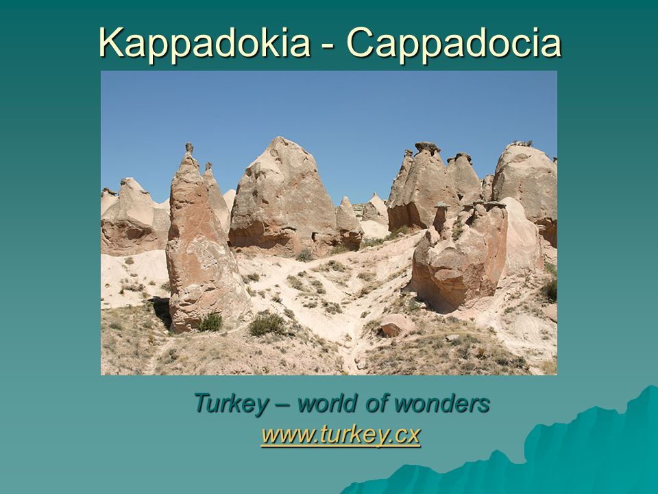 Kappadokia - Cappadocia Living with flair www.fotobox24.com