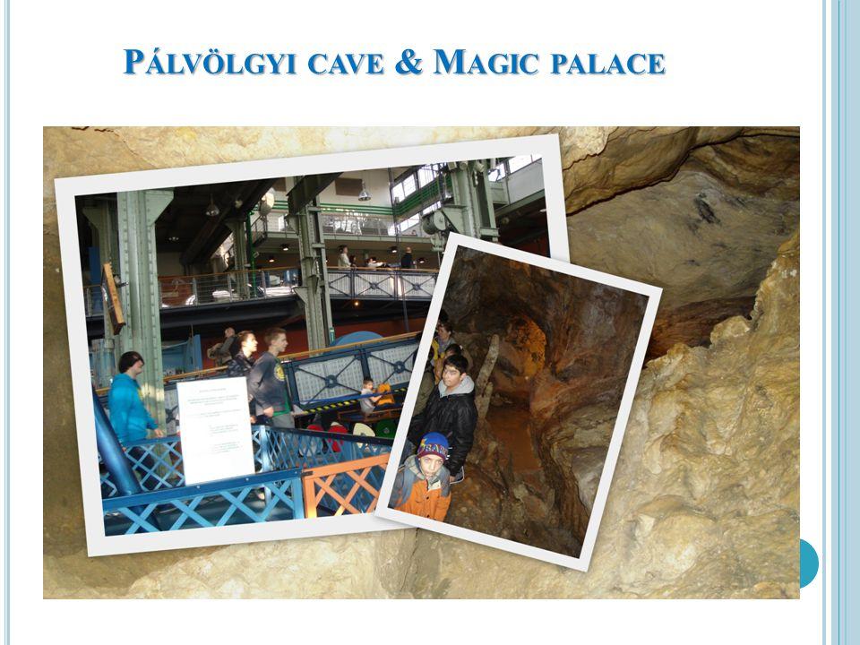 P ÁLVÖLGYI CAVE & M AGIC PALACE