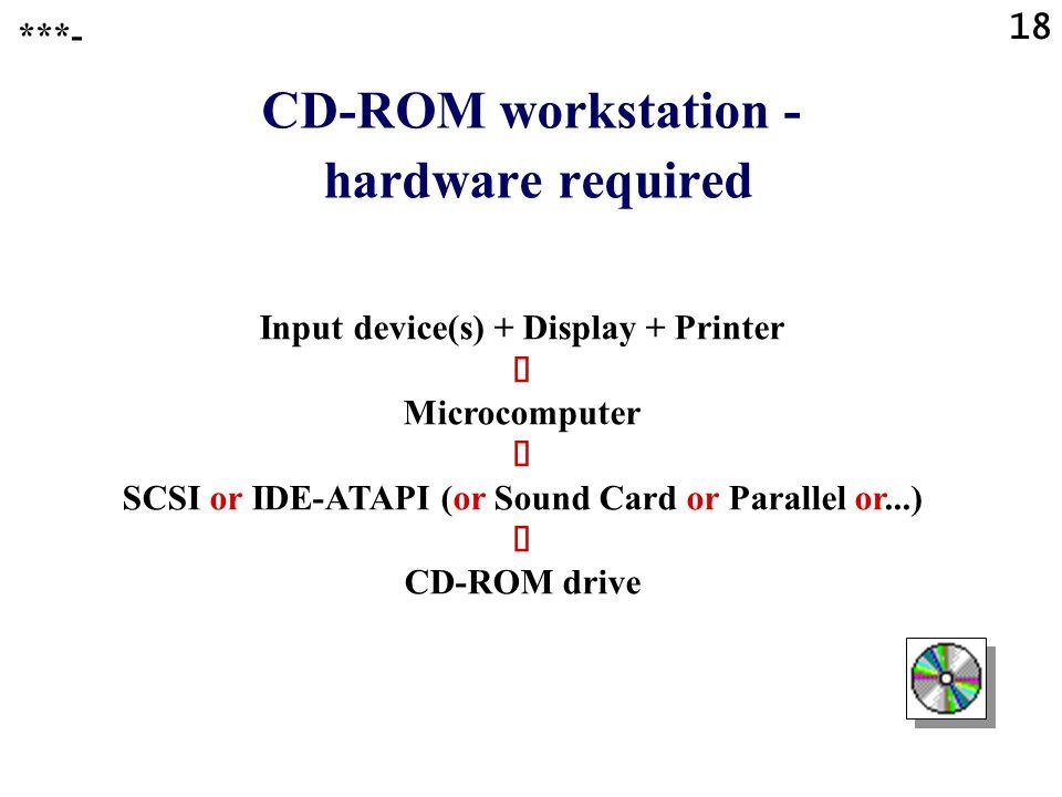 17 Compact Discs CD-ROM ****