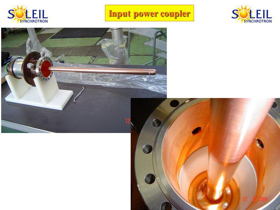 Input power coupler