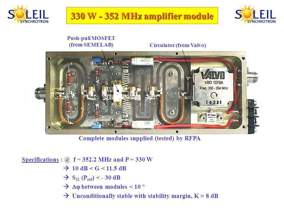 Sept. 2004: cavity re-assembly 1 43 2