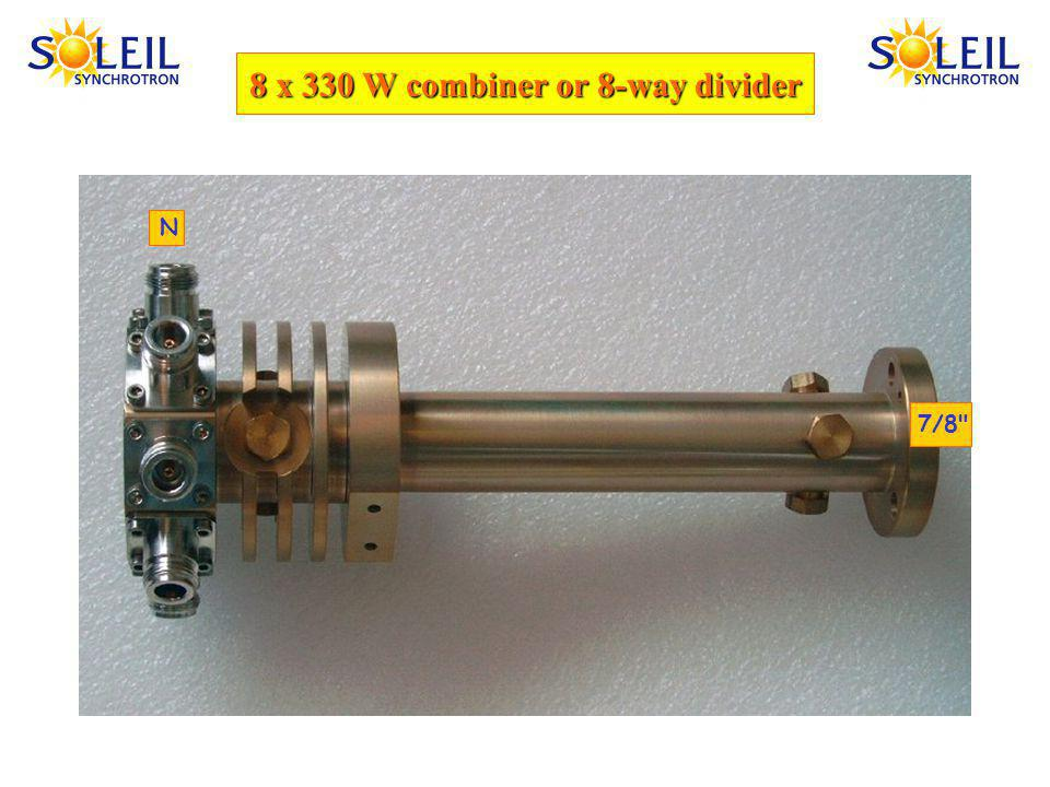 8 x 330 W combiner or 8-way divider 7/8