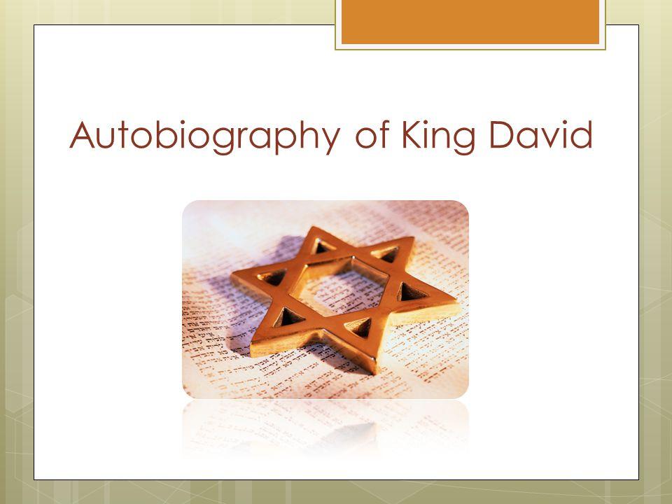 Autobiography of King David