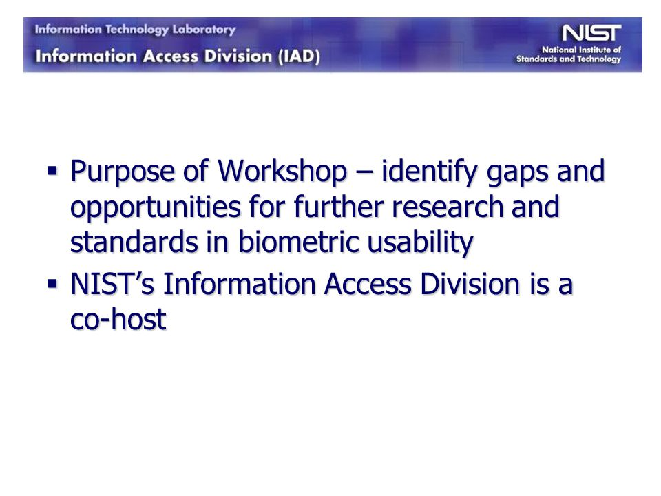 Multiple Biometrics Large-Scale USG Systems (e.g.