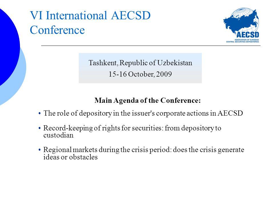 Agenda AECSD evolution NDC strategic development