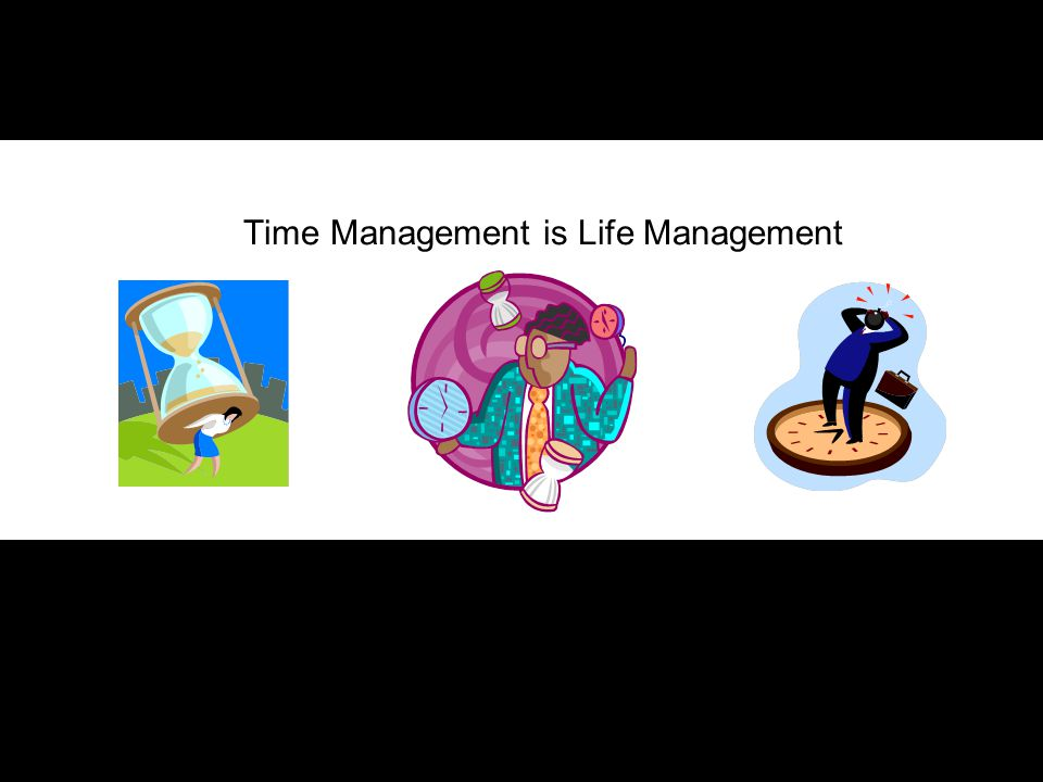 Time Management is Life Management I