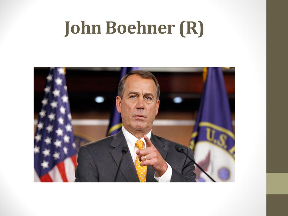 John Boehner (R)