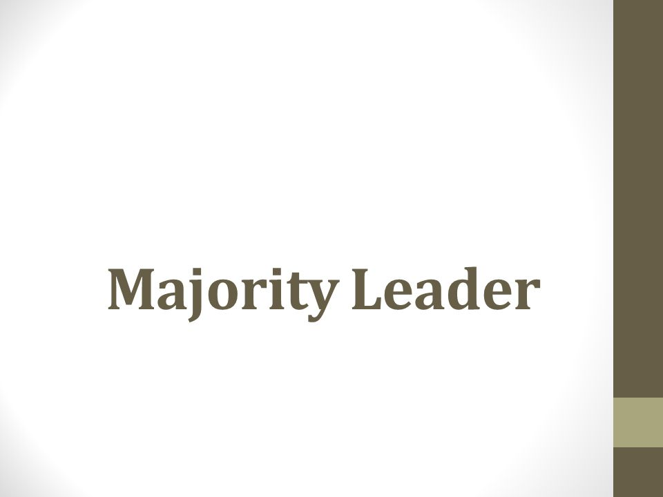 Majority Leader