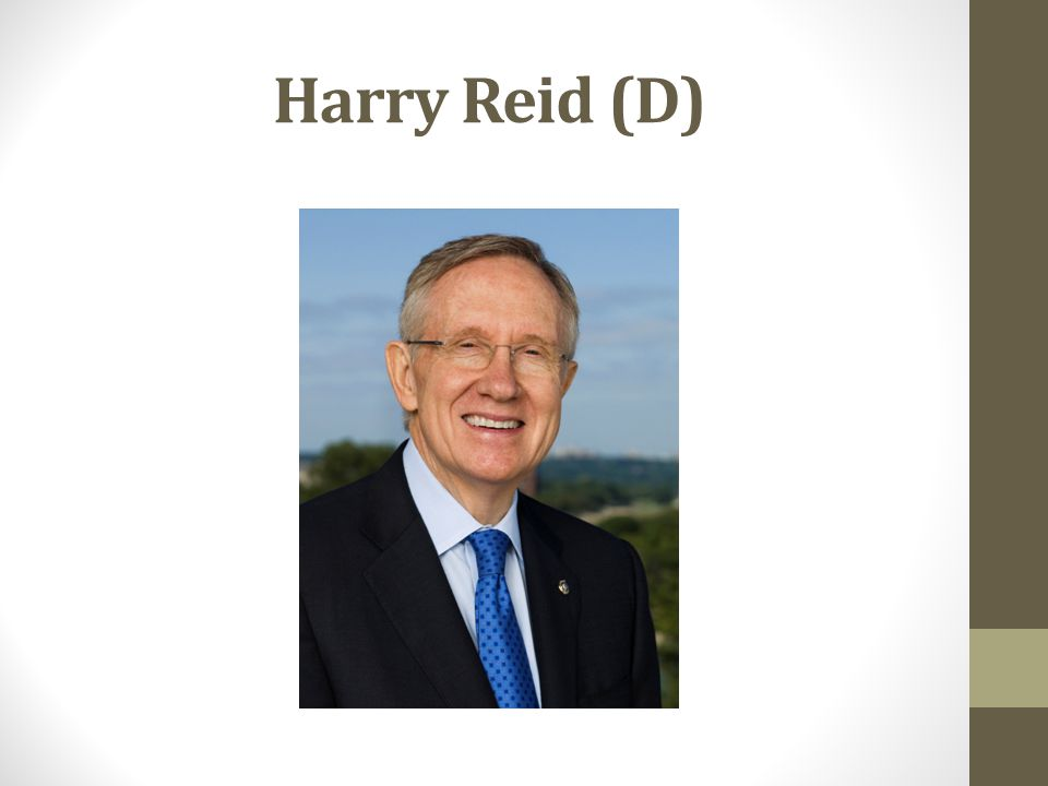 Harry Reid (D)