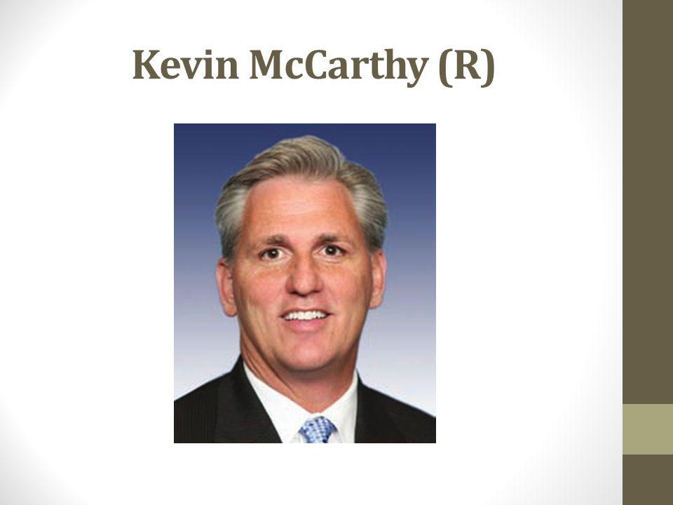 Kevin McCarthy (R)