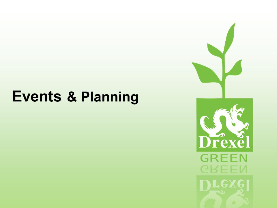 Events & Planning