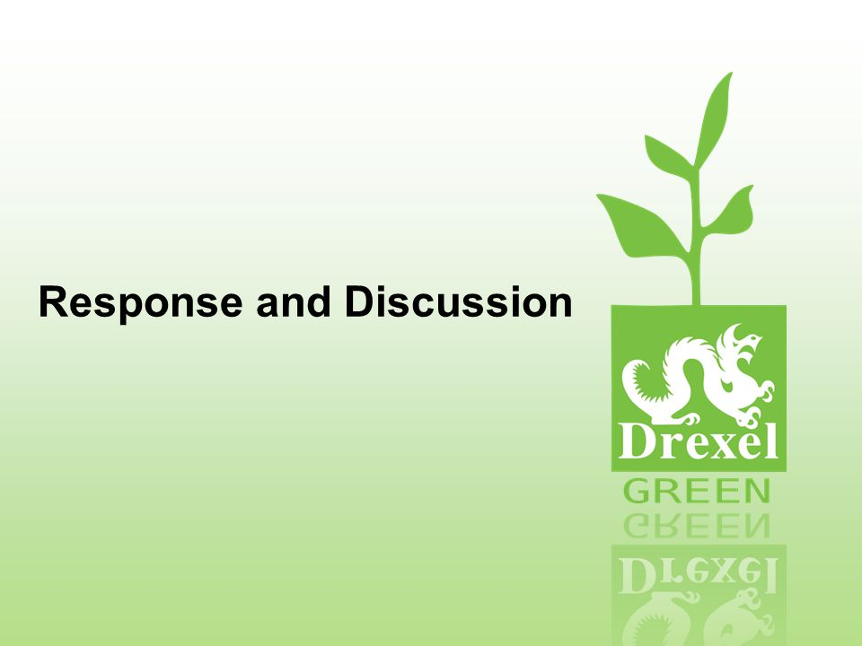 Response and Discussion
