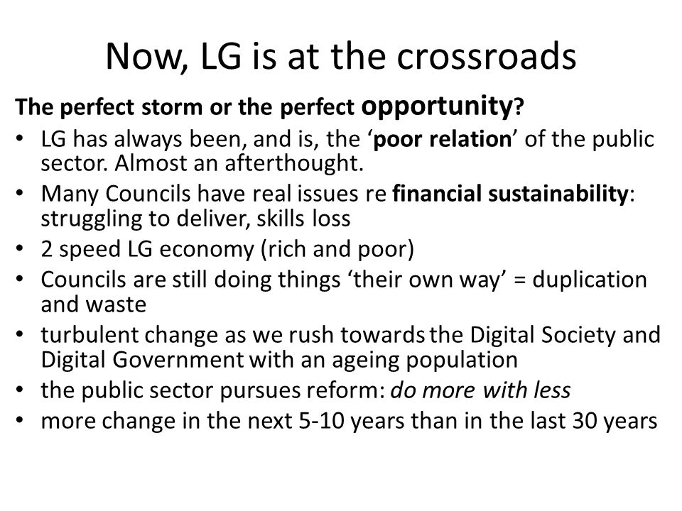 Now, LG is at the crossroads The perfect storm or the perfect opportunity .