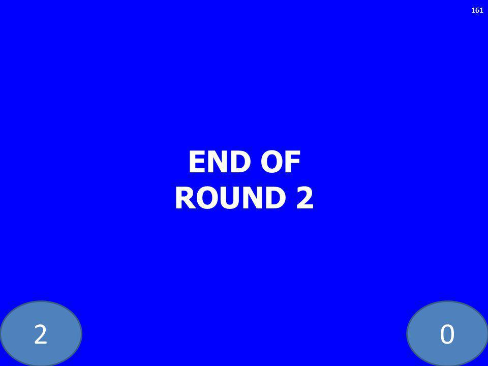 20 END OF ROUND 2 161