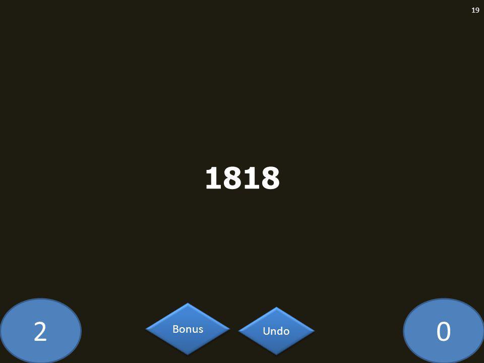 20 1818 19 Undo Bonus