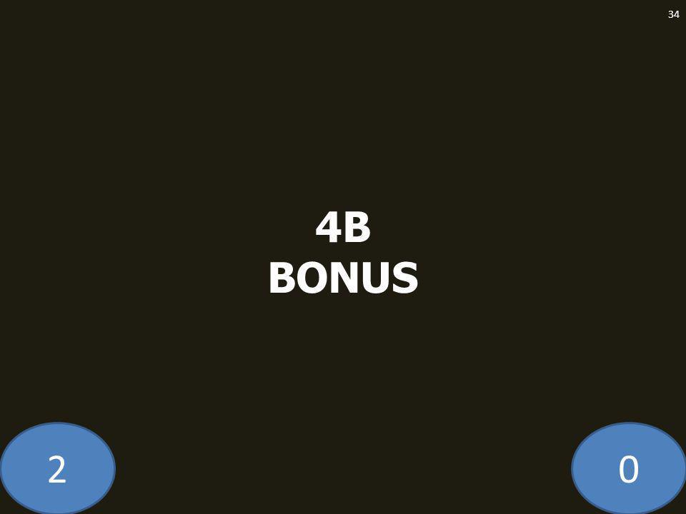 20 4B BONUS 34