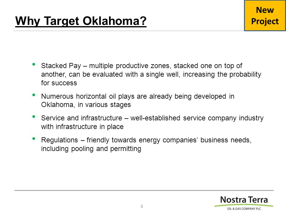 Why Target Oklahoma.