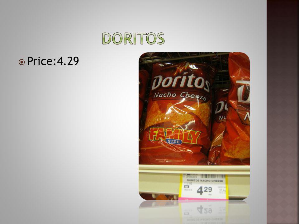 Price:4.29