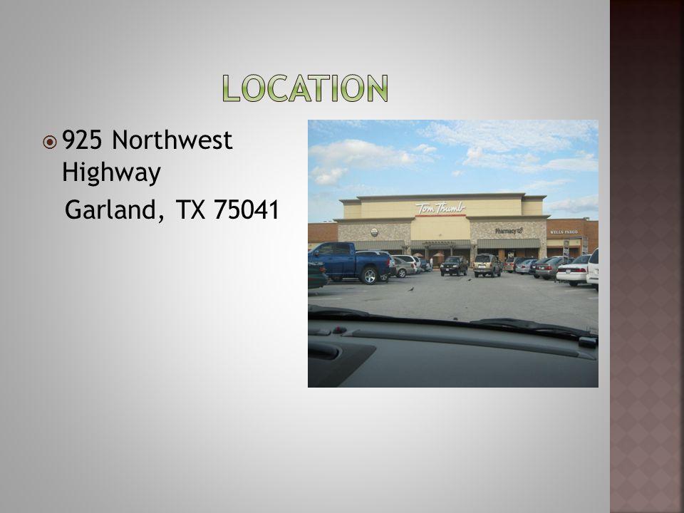 925 Northwest Highway Garland, TX 75041