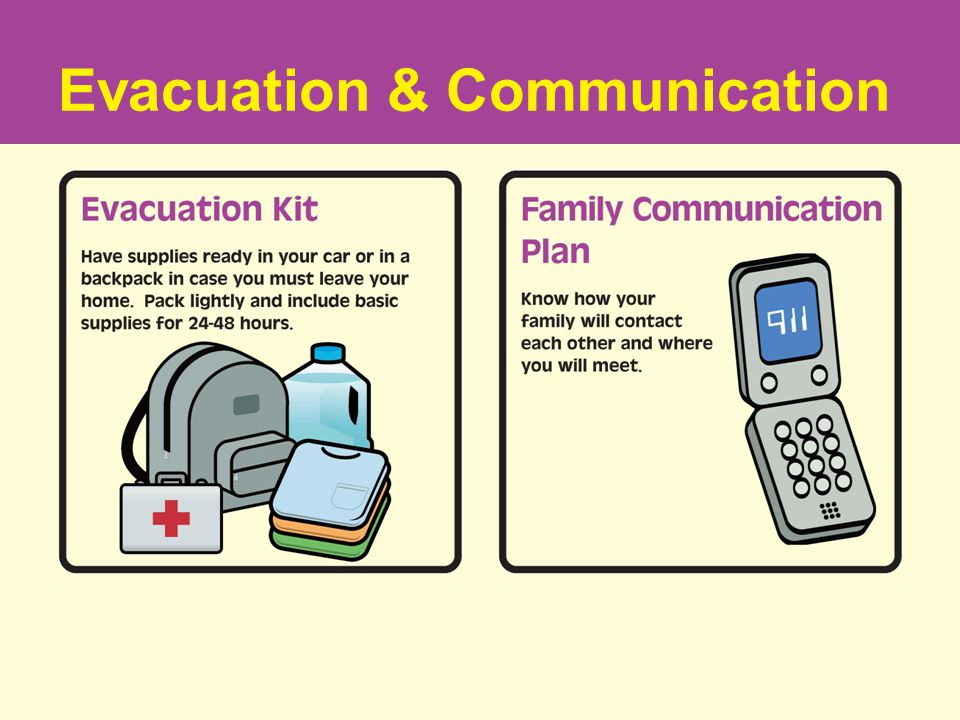 Evacuation & Communication