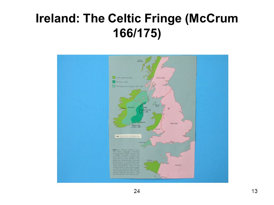 2413 Ireland: The Celtic Fringe (McCrum 166/175)