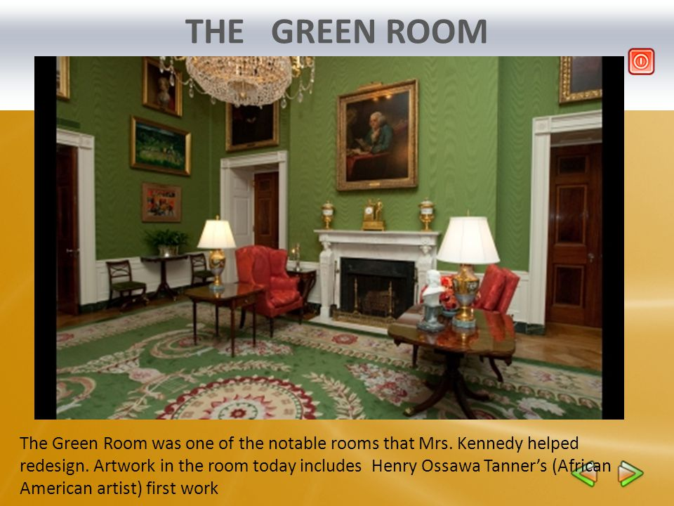 THE MAP ROOM The Map Room was used as a war room by President Franklin D.