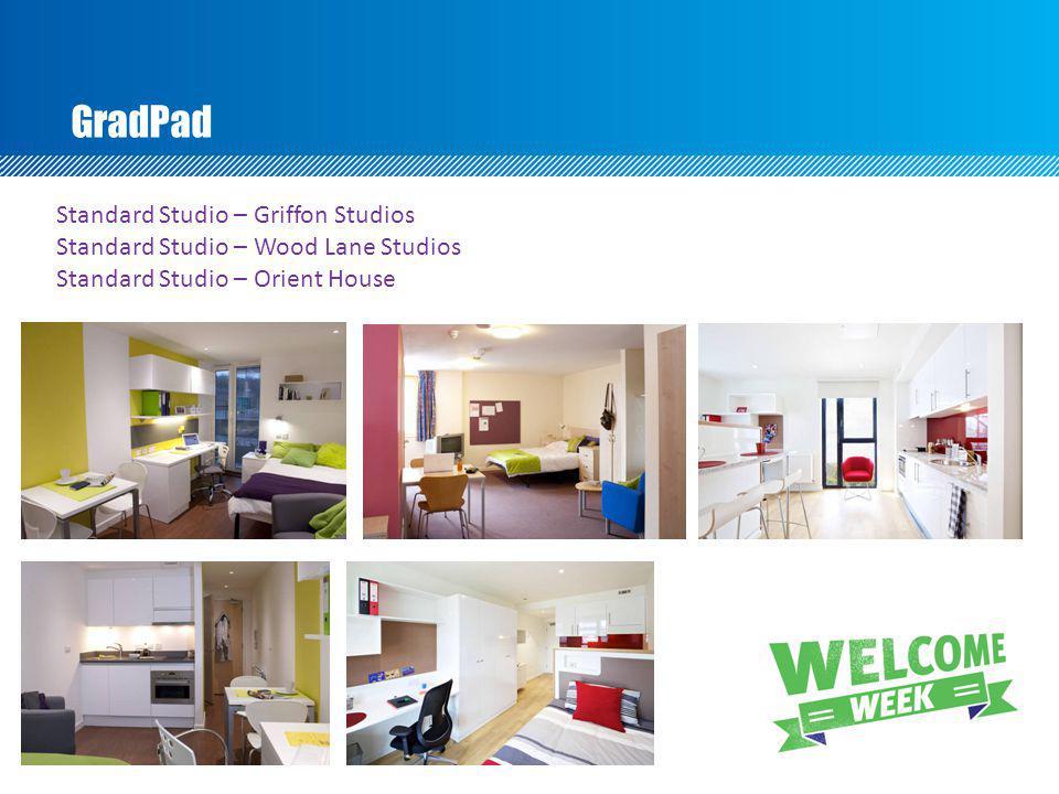 GradPad Standard Studio – Griffon Studios Standard Studio – Wood Lane Studios Standard Studio – Orient House