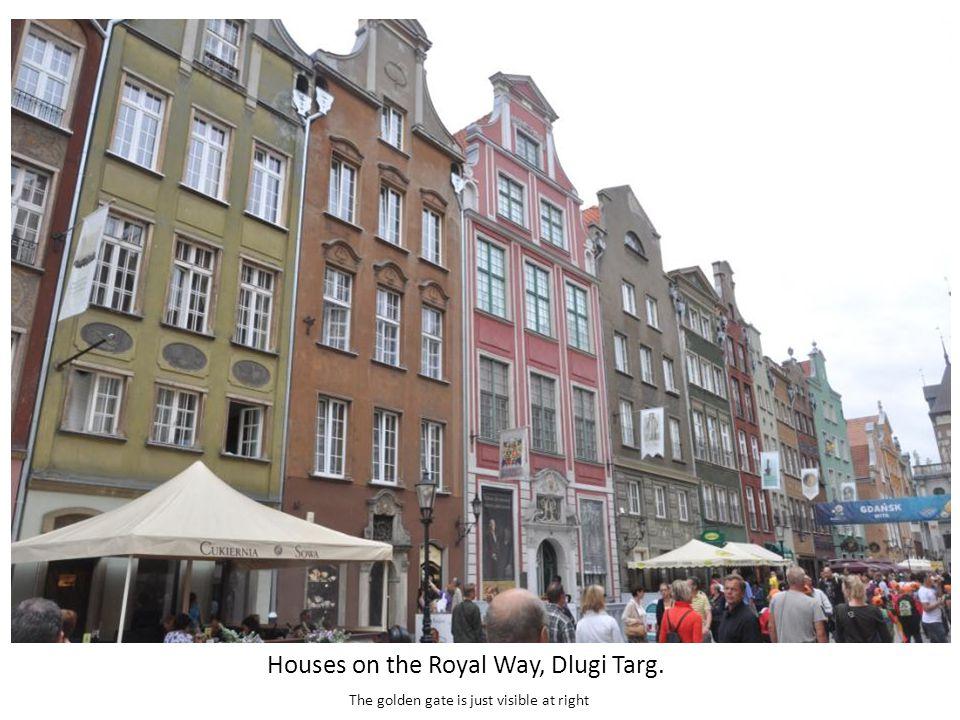 Houses on Dlugi Targ, Gdansk