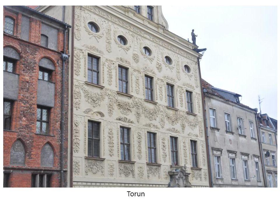 Houses in Torun