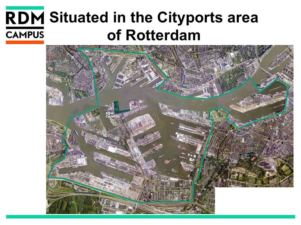 Situated in the Cityports area of Rotterdam