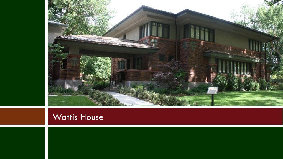 Wattis House
