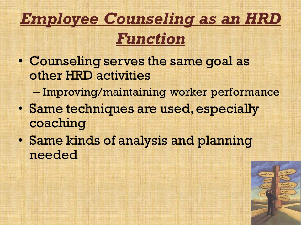 Overview of Counseling Programs 1.Problem Identification 2.