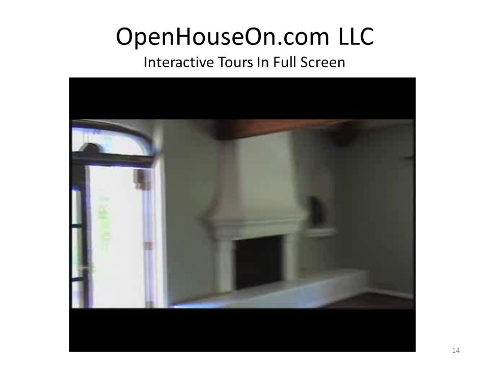 OpenHouseOn.com LLC Interactive Tours In Full Screen 14