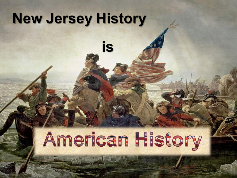 New Jersey History is