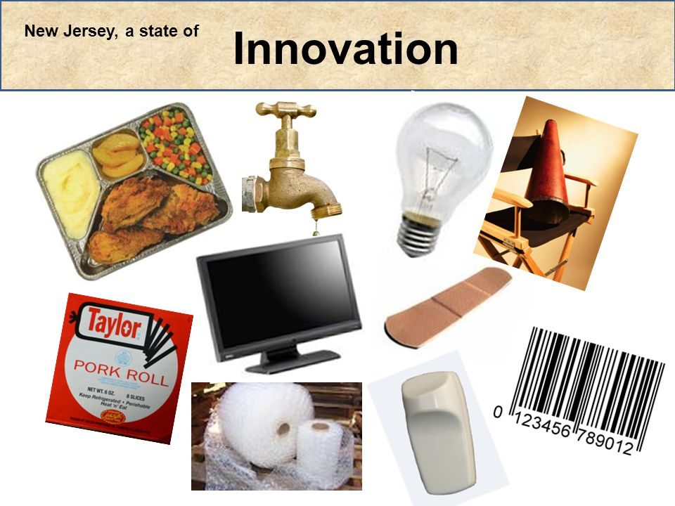 Innovation New Jersey, a state of