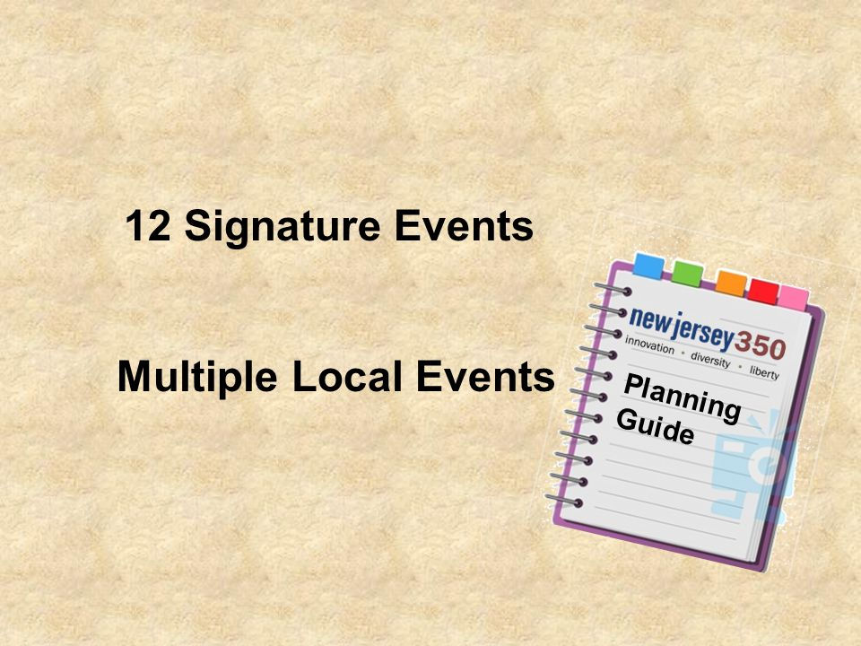 Multiple Local Events 12 Signature Events Planning Guide