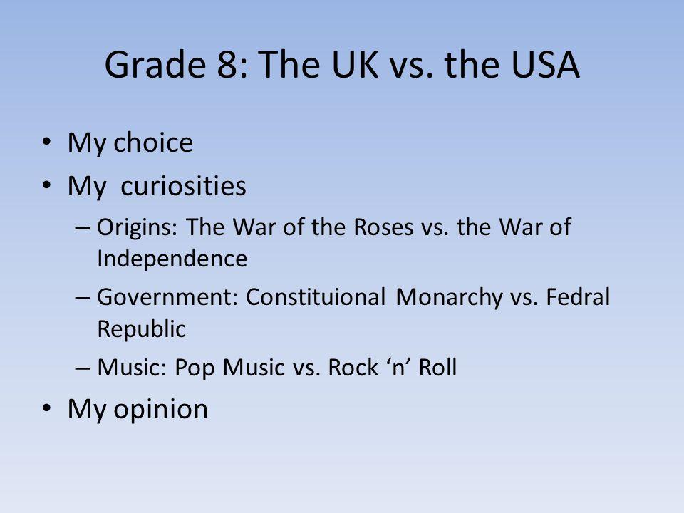 My Choice: The UK vs.