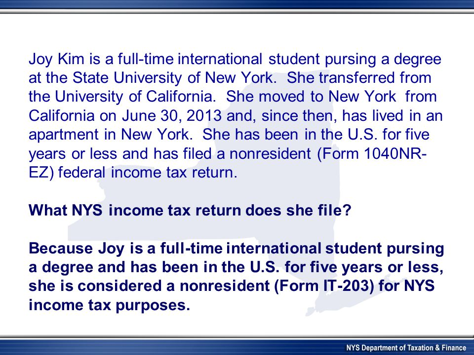 Joy Kim is a full-time international student pursing a degree at the State University of New York.