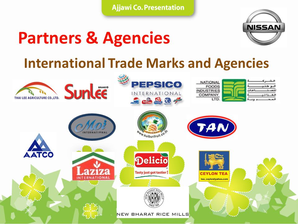 International Trade Marks and Agencies Partners & Agencies