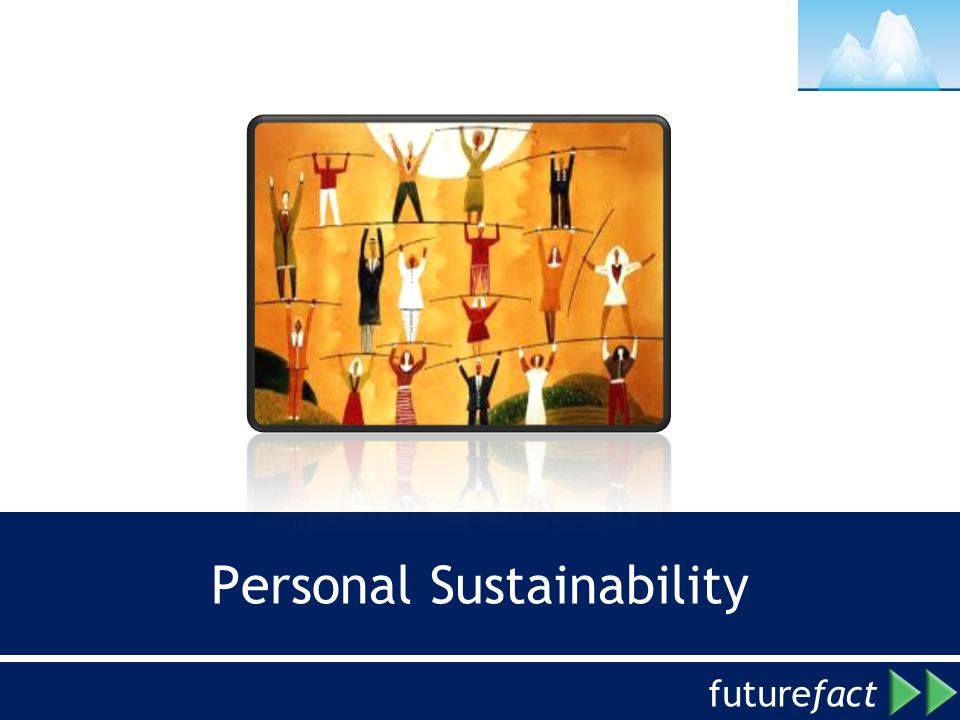 future fact Personal Sustainability
