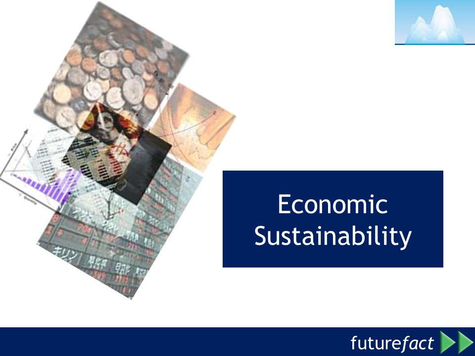 future fact Economic Sustainability