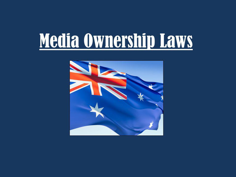 Media Ownership Laws