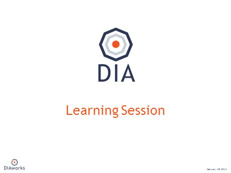 NEW Learning Session February 19, 2014
