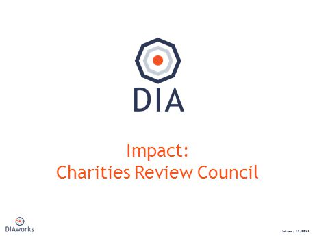 NEW Impact: Charities Review Council February 19, 2014