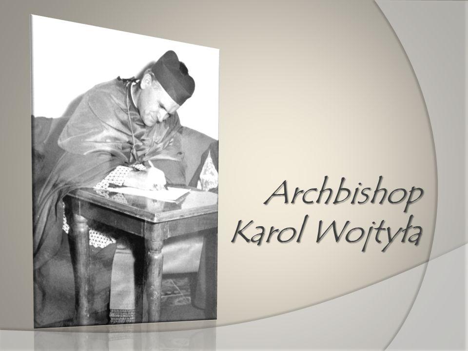 Archbishop Karol Wojtyła