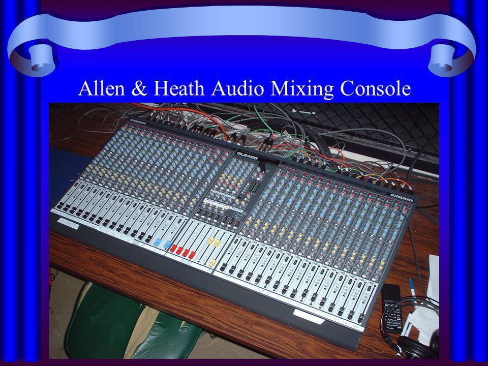 Allen & Heath Audio Mixing Console
