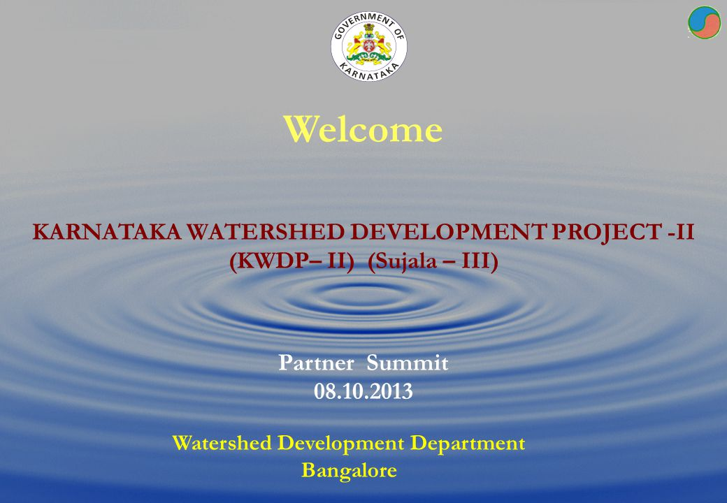 Watershed Planning Perspective & KWDP II