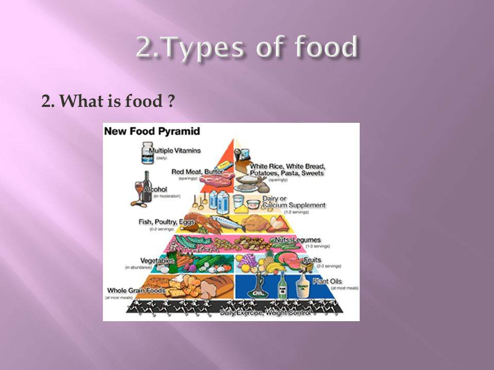 2. What is food ?
