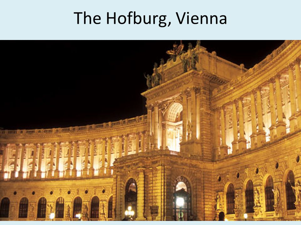 The Hofburg, Vienna