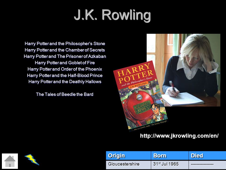 J.K. Rowling Harry Potter and the Philosophers Stone Harry Potter and the Chamber of Secrets Harry Potter and The Prisoner of Azkaban Harry Potter and
